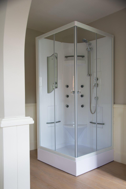 Hof der Heerlijckheid - badkamer 1 douche