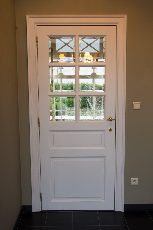 Hof der Heerlijckheid - hal deur