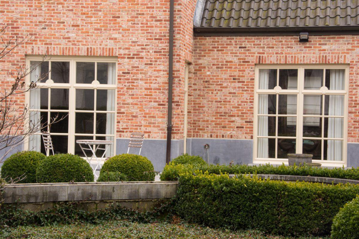 Hof der Heerlijckheid - outdoor achtergevel detail