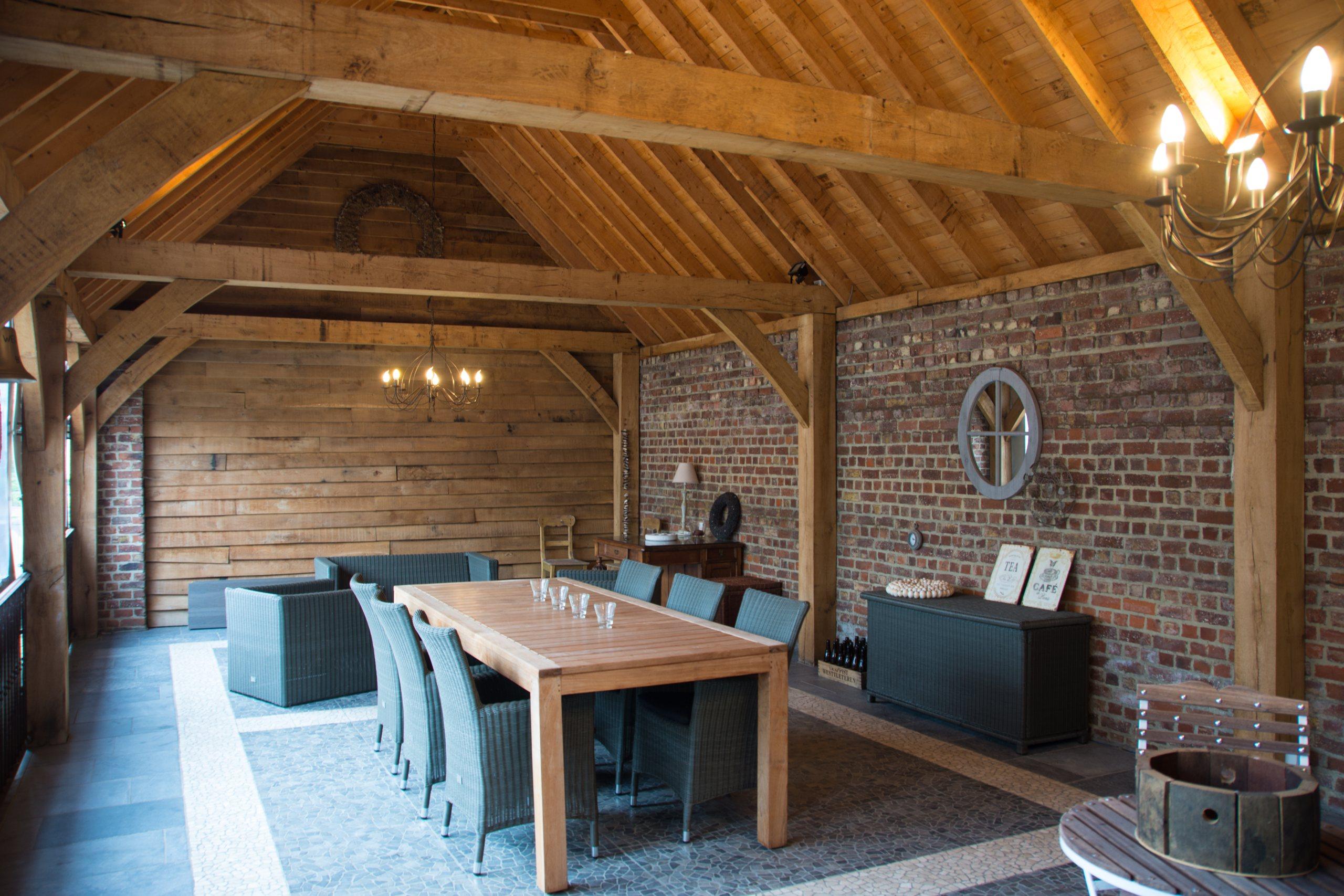 Hof der Heerlijckheid accommodatie- outdoor buitenkamer