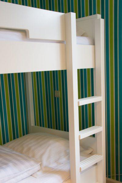 Hof der Heerlijckheid - slaapkamer 2 ladder