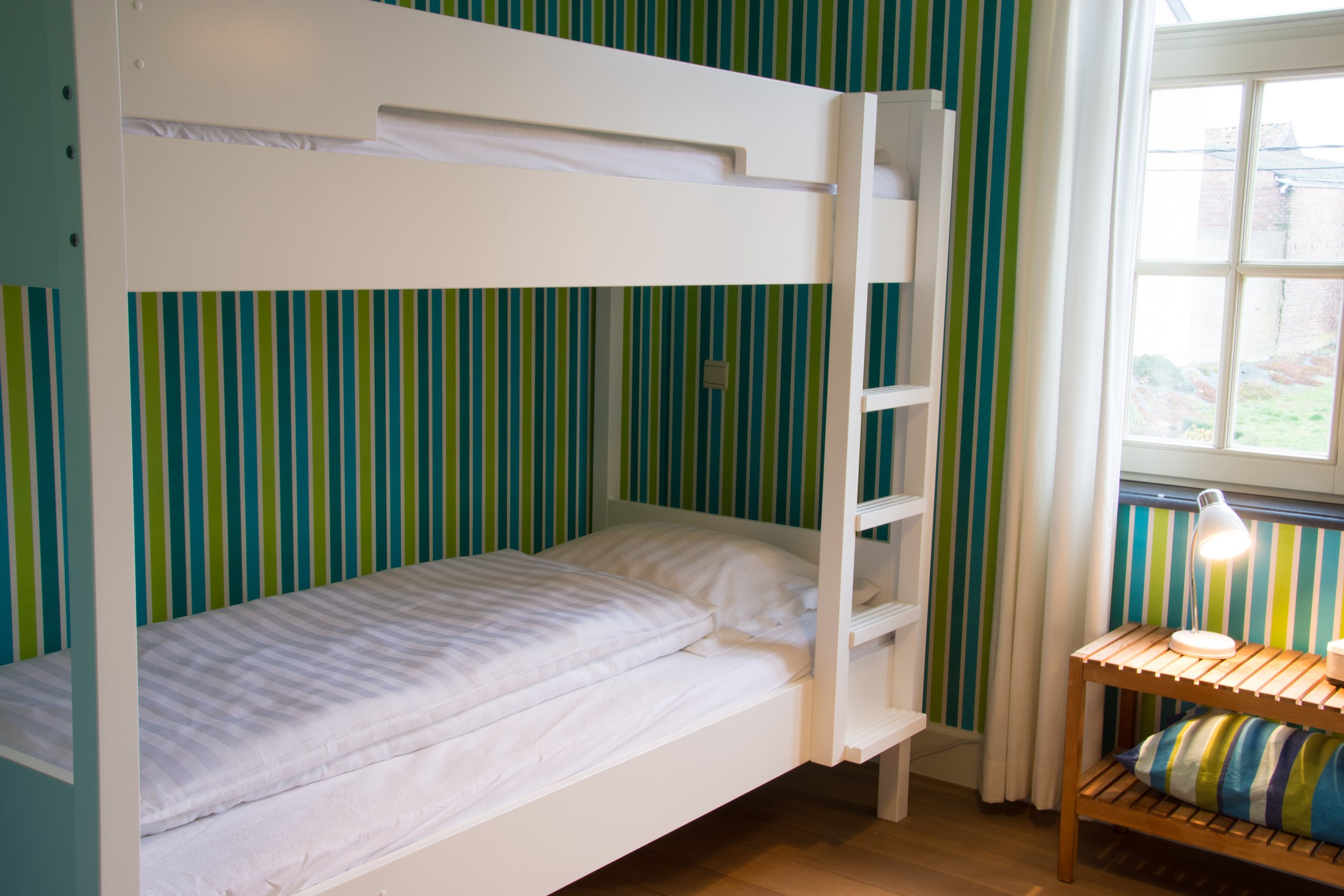 Hof der Heerlijckheid - slaapkamer 2 stapelbed