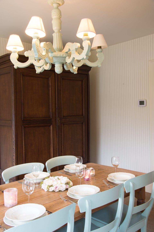 Hof der Heerlijckheid - woonkamer eettafel
